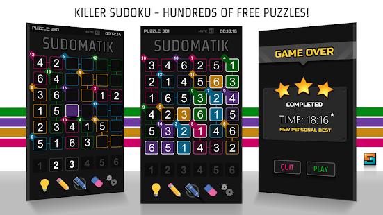 Killer Sudoku SUDOMATIK for PC / Windows 7, 8, 10 / MAC Free