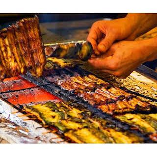 Barbecued Eel.