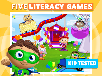 Super Why! Phonics Fair- screenshot thumbnail