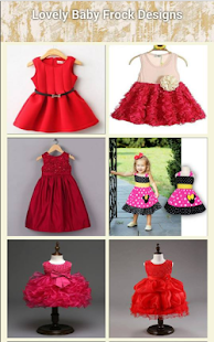 Lovely Baby Frock Designs - náhled
