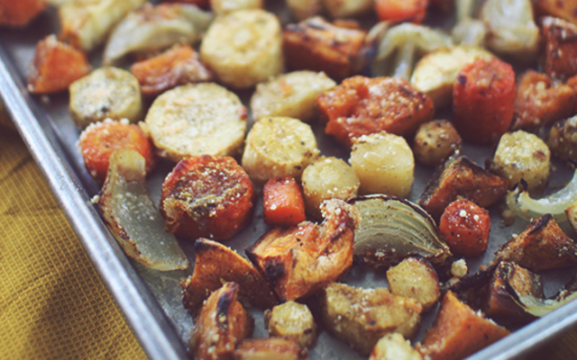 Roasted Fall Vegetables Recipe | Yummly