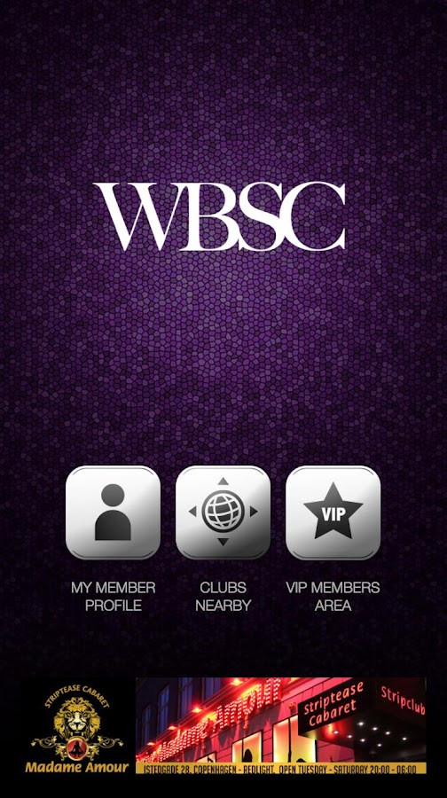 WBSC strip club locator- screenshot