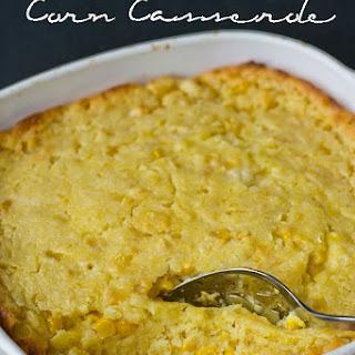 5 Ingredient Corn Casserole.