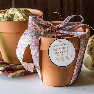 Easy Flower Pot Herbal Beer Bread