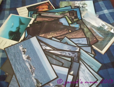 postcards, swapping, postcrossing