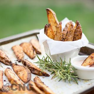 Rosemary Roasted Potato Wedges.