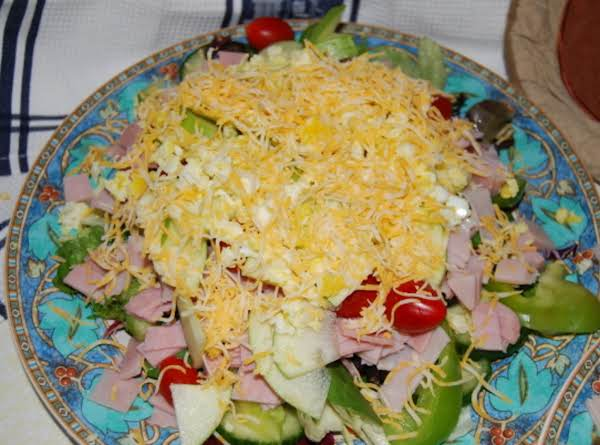 Mom's Chef Salad Recipe