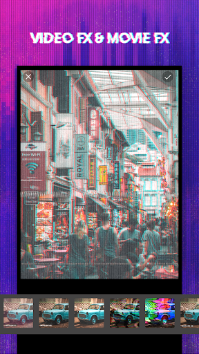 Screenshot for 3D Glitch Photo Effects - Camera VHS Camcorder in United States Play Store
