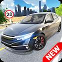 Car Simulator Civic: City Driving icon