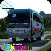 Unduh Livery Bus Budiman Gratis