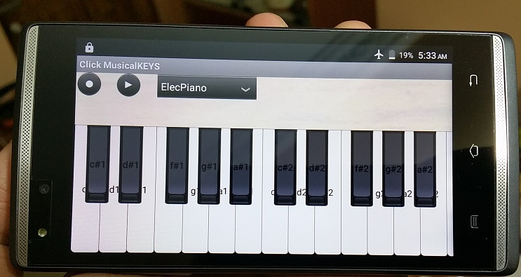 Click MusicalKEYS for Android