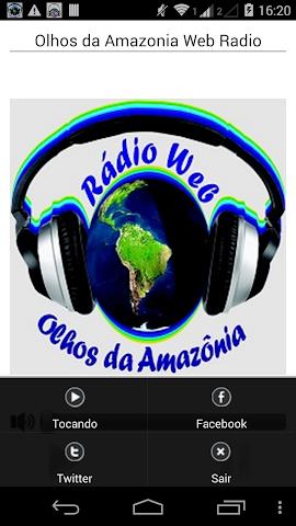 android Olhos da Amazonia Web Radio Screenshot 1