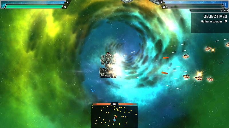 Starlost - Space Shooter Screenshot 2