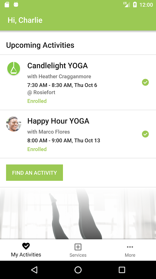 Yoga Pilates Barre- screenshot