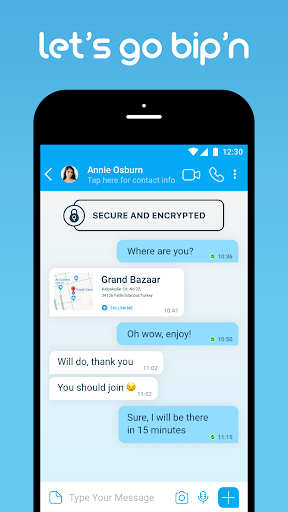 BiP Messenger 3.52.7 screenshots 1