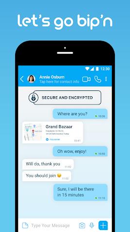 BiP Messenger Screenshot
