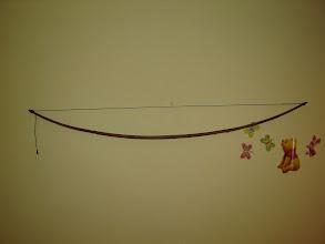 Photo: Dlžka 62´´, 50lb@26´´, stred 30x19 mm, string follow 15 mm