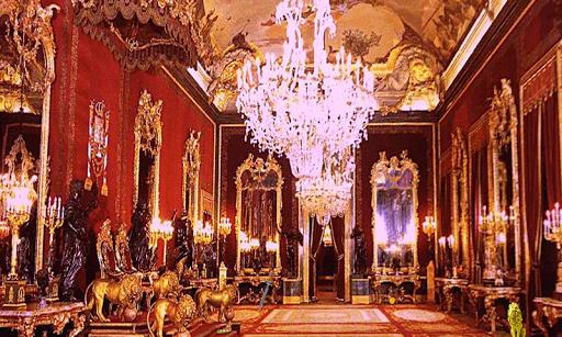 マドリードの脱出の王宮