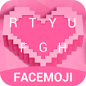 Love Emoji Keyboard Theme for Valentine's Day