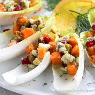 Persimmon Endive Appetizer Recipe