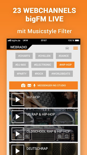 bigFM Radio  screenshots 2