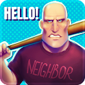 Calm Down Angry Neighbor icon