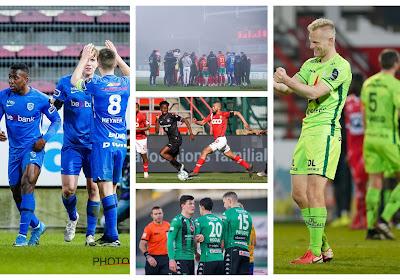Anderlecht, Cercle Brugge, Essevee, Genk vs tamme Kanaries en Carcela