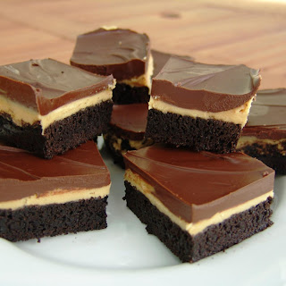 Peanut Butter Truffle Brownies.