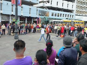 Photo: Street theatre performance