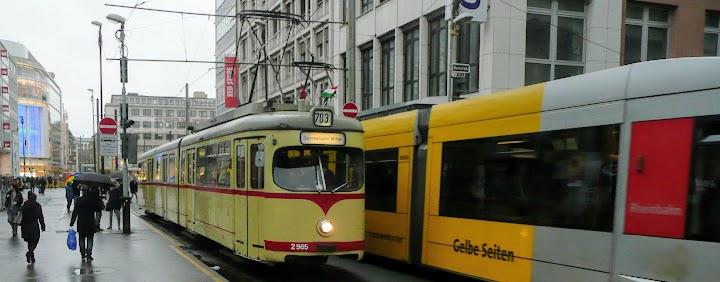 Straßenbahnen in Düsseldorf