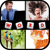 1000 PICS Puzzle - 4 Pics Guess What's the 1 Word