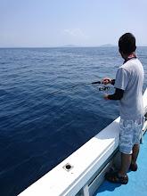 """Photo: さあー、""""山田さん""""! 今度は魚釣ってね!"""