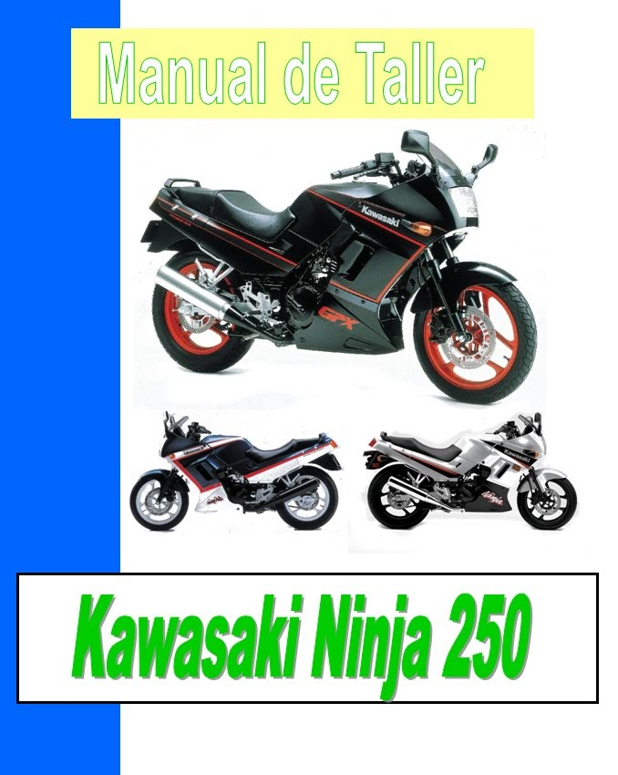 Kawasaki GPz 250-manual-taller-despiece-mecanica