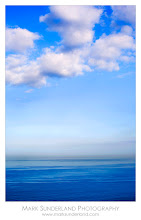 Photo: #ThirstyThursdayPics  Sea and Sky  Here's a seascape image from a few years back. I was photographing the coast at Ravenscar one winters day and was attracted to the simplicity of this composition looking out to sea.  Canon EOS 5D, 70-200mm at 70mm, ISO 50, 1/13s at f32