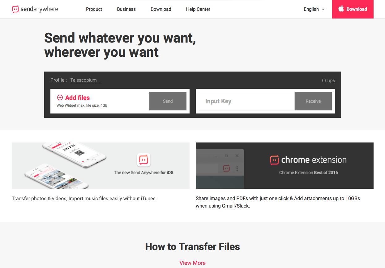 Para resolver isto você pode usar um app muito legal que se chama SendAnywhere, que é uma ótima opção para transferir fotos através da rede WIFI. - Como exportar fotos do Lightroom para o Instagram