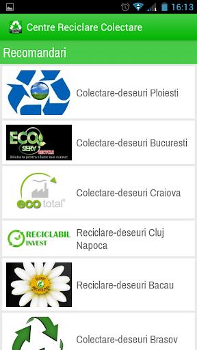 Centre Reciclare Colectare|玩商業App免費|玩APPs