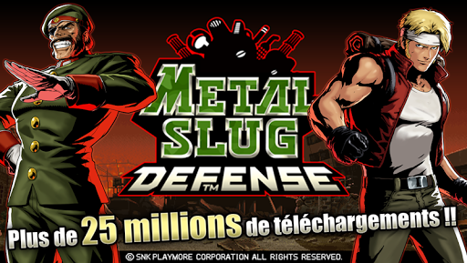 METAL SLUG DEFENSE  astuce 1