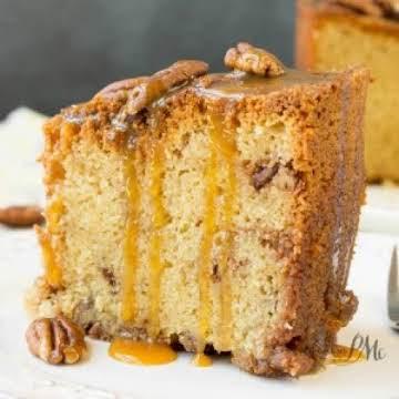 Pecan Pie Pound Cake Recipe