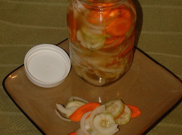 Pickled Cucumbers And Onions Recipe