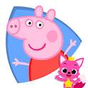 Peppa Pig 1~3 : Videos for kids & Coloring icon