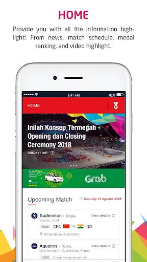 Telkomsel Asian Games screenshot 1