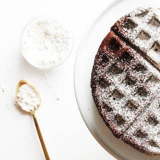 Chocolate Cake Waffles.
