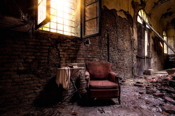 Una sosta nelle antiche scuderie di Sergio Locatelli