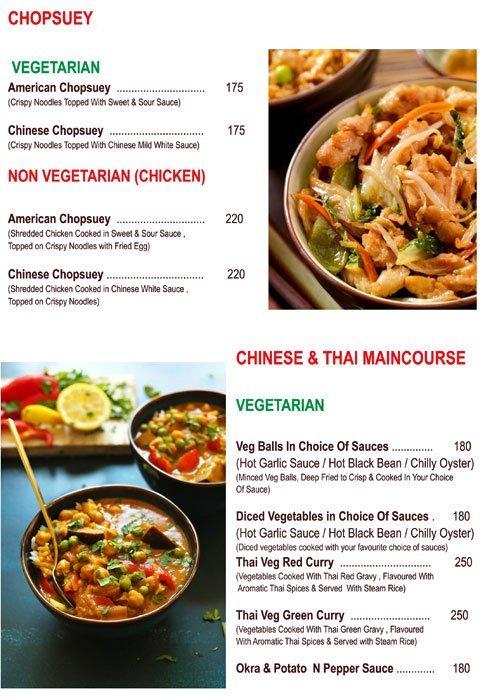 Chef's Bank menu 4