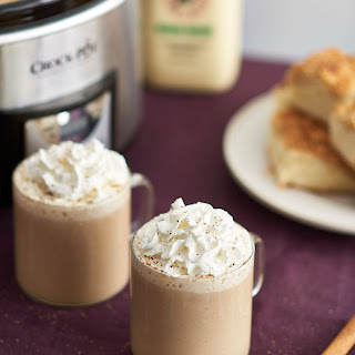 Slow Cooker Eggnog Lattes.