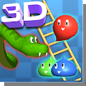 Snakes and Ladders Slime 3D icon