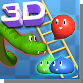 Snakes and Ladders, Slime - 3D Battle