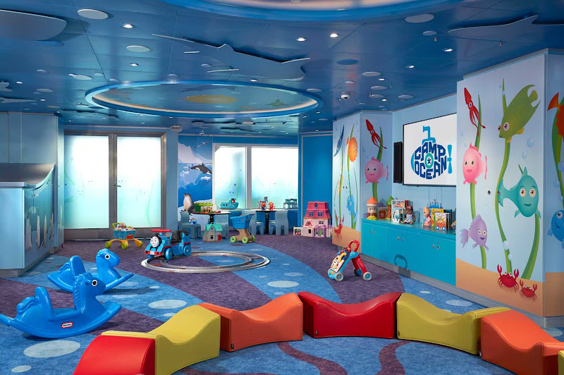 Carnival Panorama's Camp Ocean is a fun activity center for children ages 2-11.