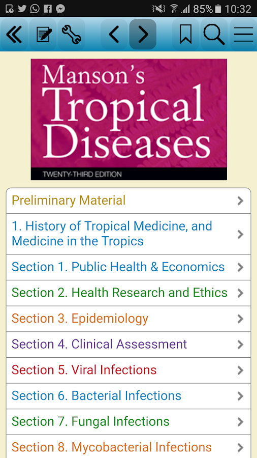 Manson's Tropical Diseases, 23- screenshot