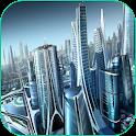 A Cidade Do Futuro 4K LWP icon